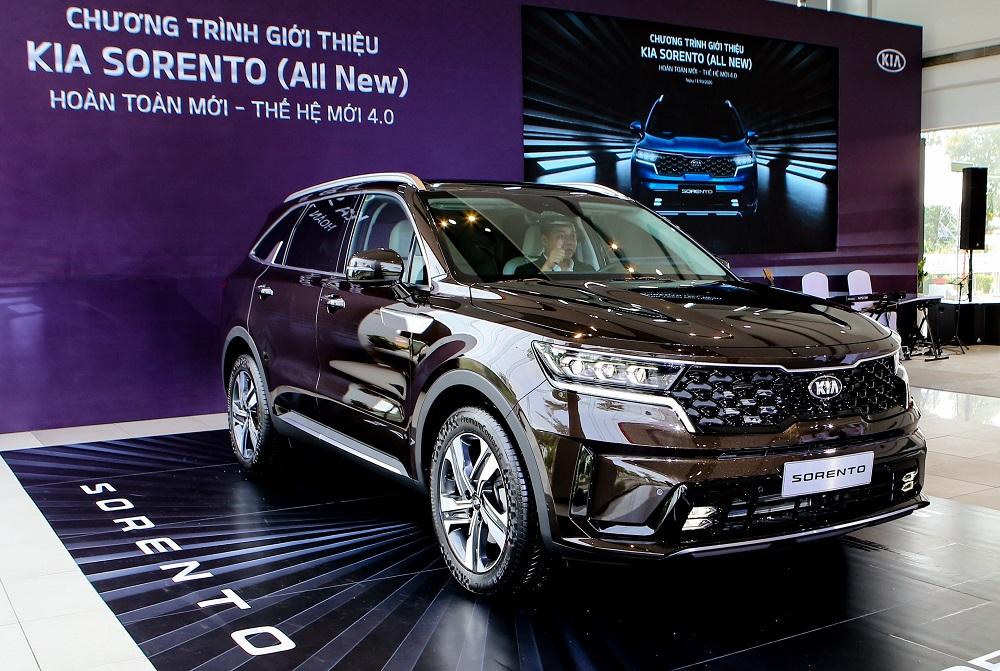 Thaco trưng bày Kia Sorento 2021 trên toàn quốc