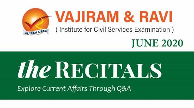 Vajiram Current Affairs June 2020