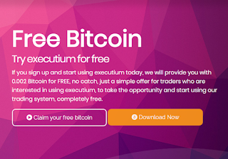 Bonus Crypto Tanpa Deposit Executium 0.002 Bitcoin