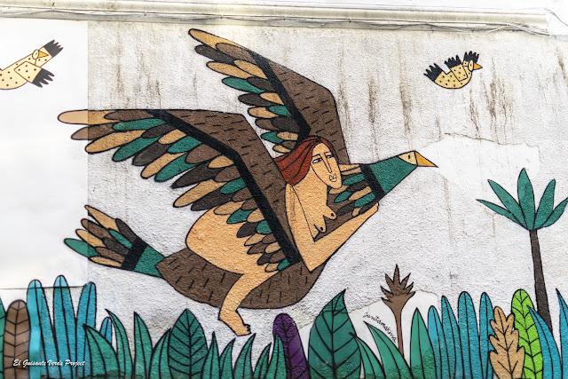 Mural en Bailén 37, por Ruth Juan - Bilbao, por El Guisante Verde Project