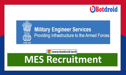 MES Recruitment 2021, Military Engineering Services Job Vacancy Notification