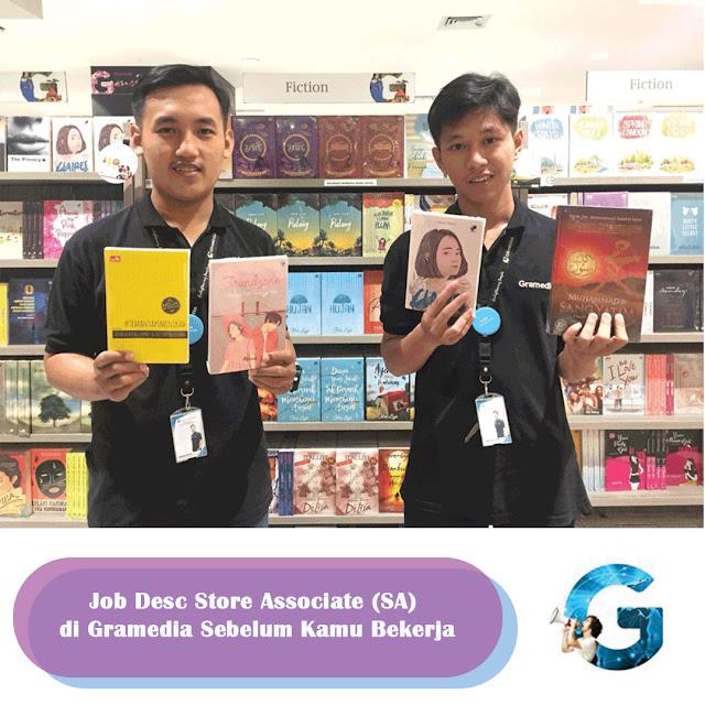 Job Desc Store Associate (SA) di Gramedia Sebelum Kamu Bekerja