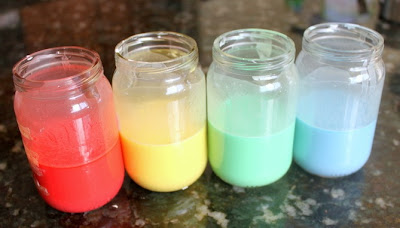 3 Ingredient Homemade Sidewalk Paint Recipe (Summer Boredom Buster!!) From FunCheapOrFree.com