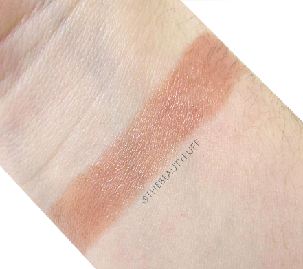 clinique chubby stick heaping hazelnut swatch - the beauty puff