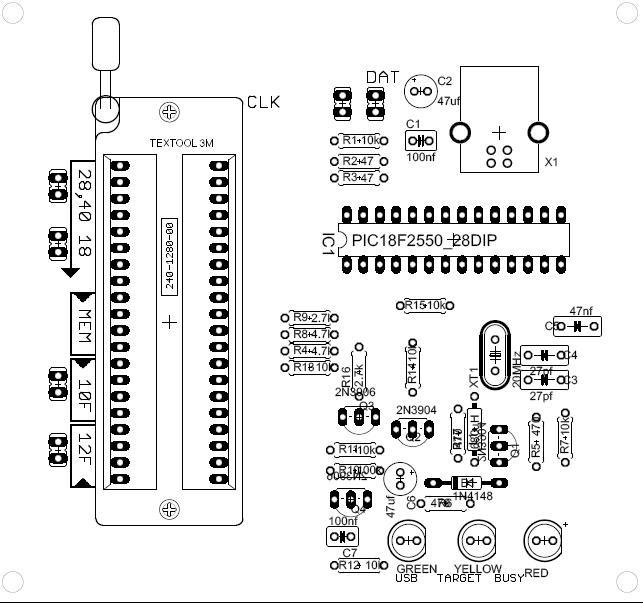 Ingeniería Aplicada: PICKIT2 Clon
