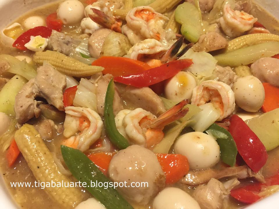 chop suey filipino recipe and how to cook