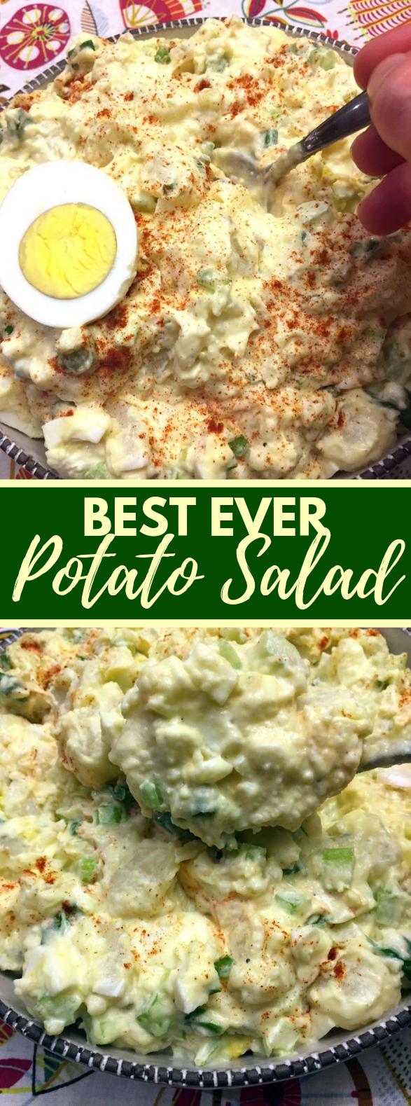 Best Potato Salad Recipe Ever #vegetarian #glutenfree