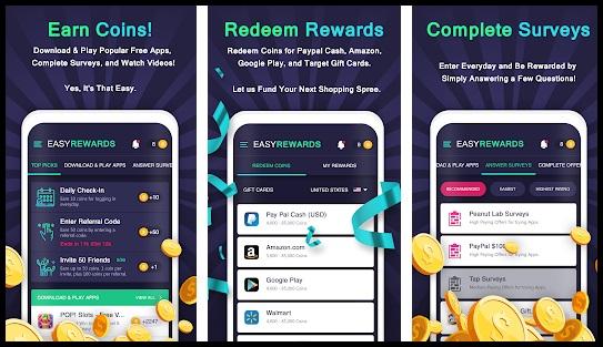 Aplikasi Easy rewards