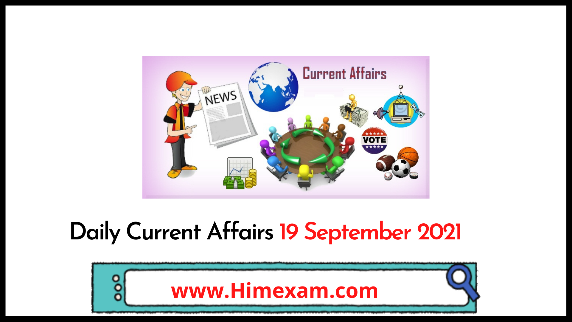 Daily Current Affairs 19 September 2021