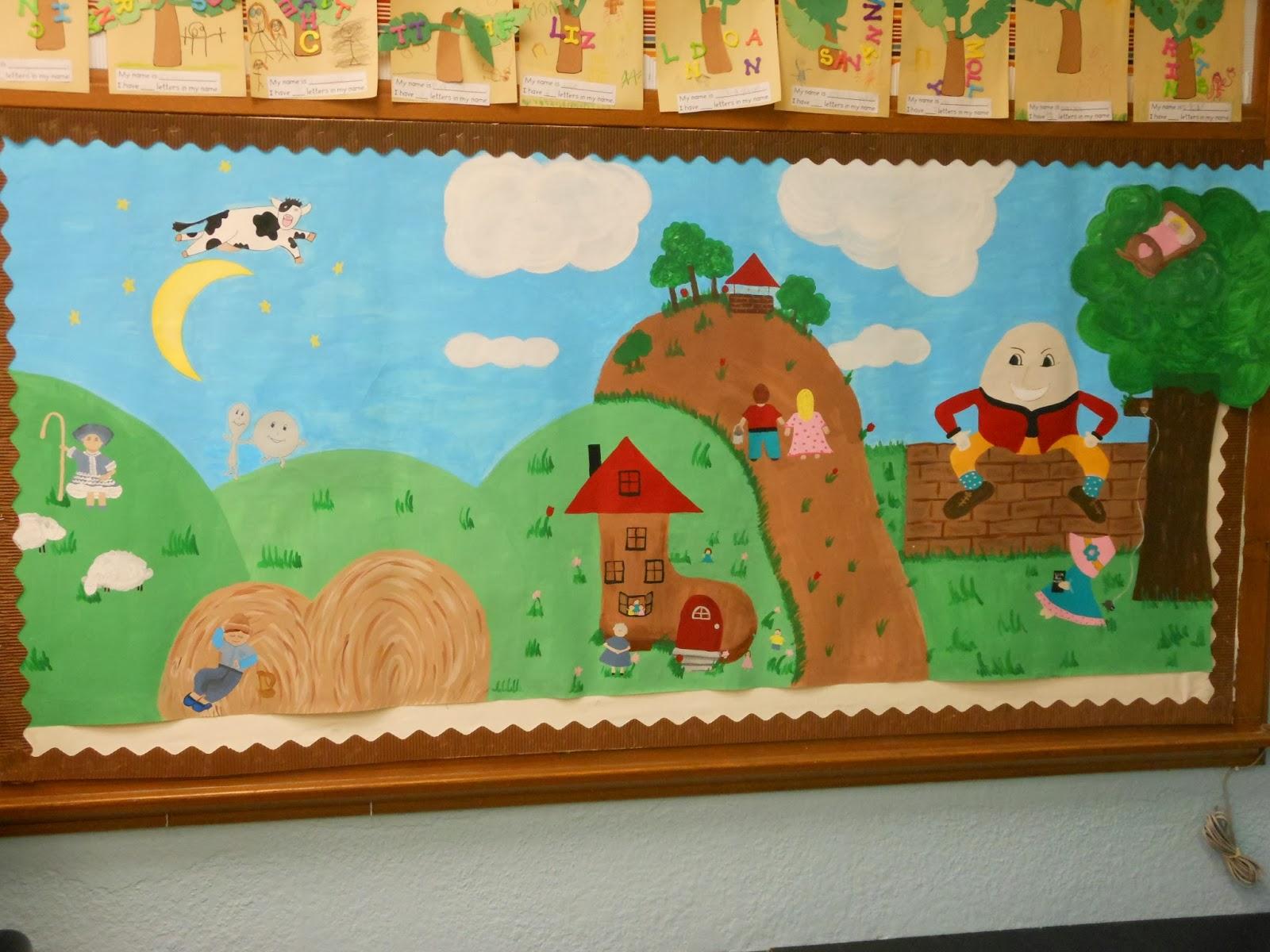 Kindergarten Blooms Nursery Rhyme Day