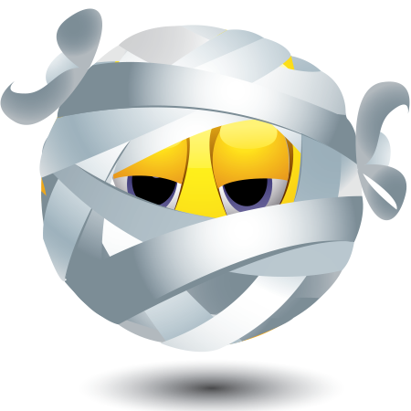 Emoticon is wrapped up