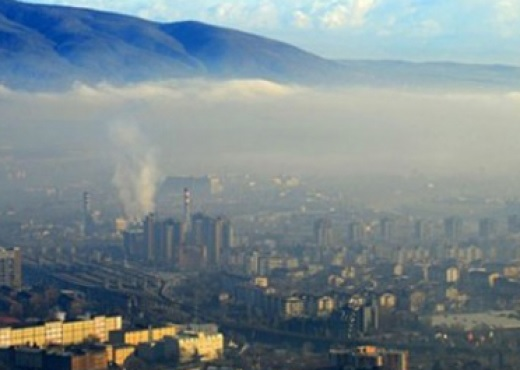 Tetovo with the highest air pollution in Macedonia