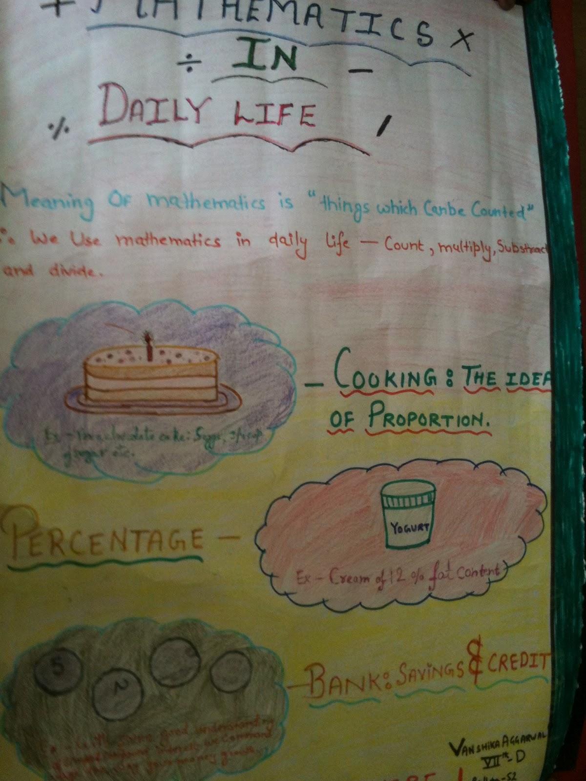 daily life essay essay mathematics daily life