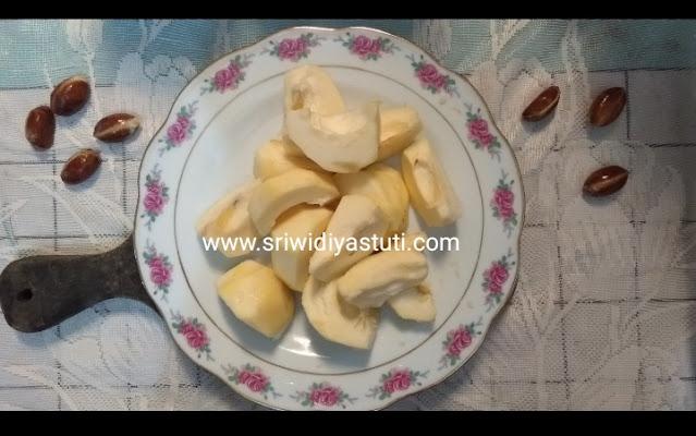 daging buah bisbul lembut