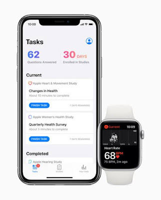 Apple launches in application allows registration on health studies