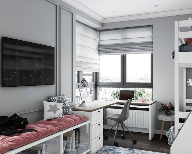 Hình mẫu thiết kế nội thất căn hộ đẹp P2
