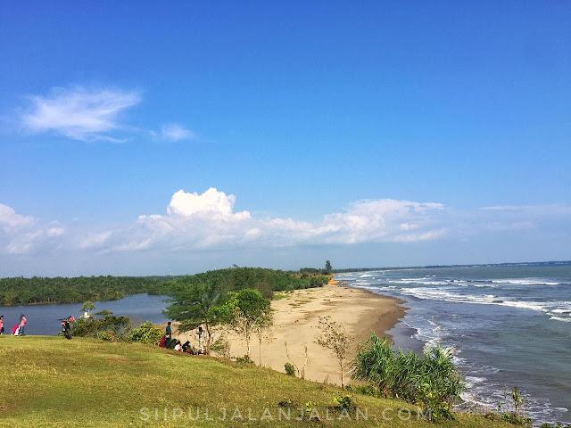 Perbatasan antara Danau Gedang dengan Pantai Padang Betuah