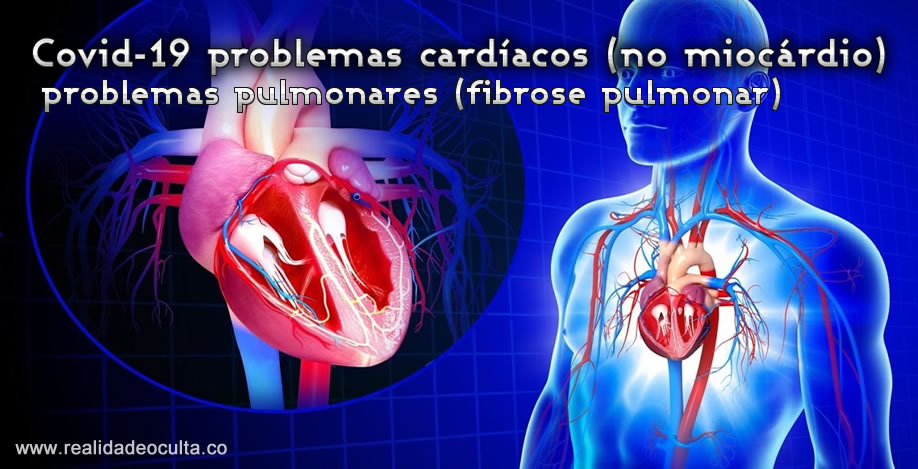 Covid-19 danos permanentes no coração e pulmões