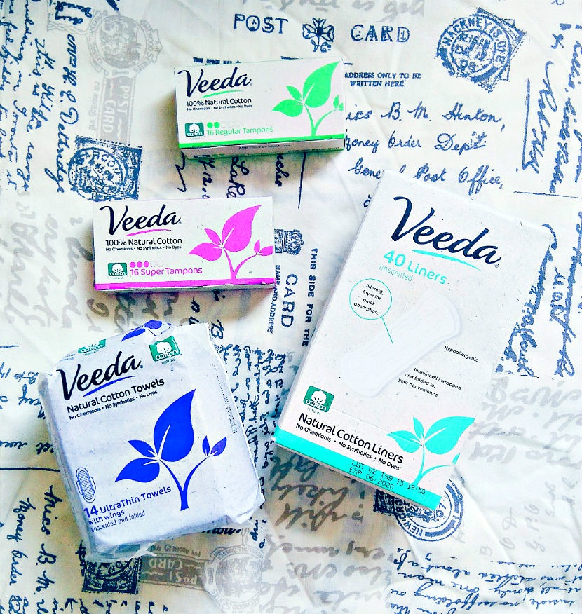 Natural Sanitary Products from Veeda
