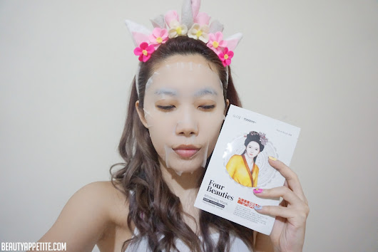 Beauty Appetite by Jessica Simon: Four Beauties Whitening Sheet Mask (Korean Brand)