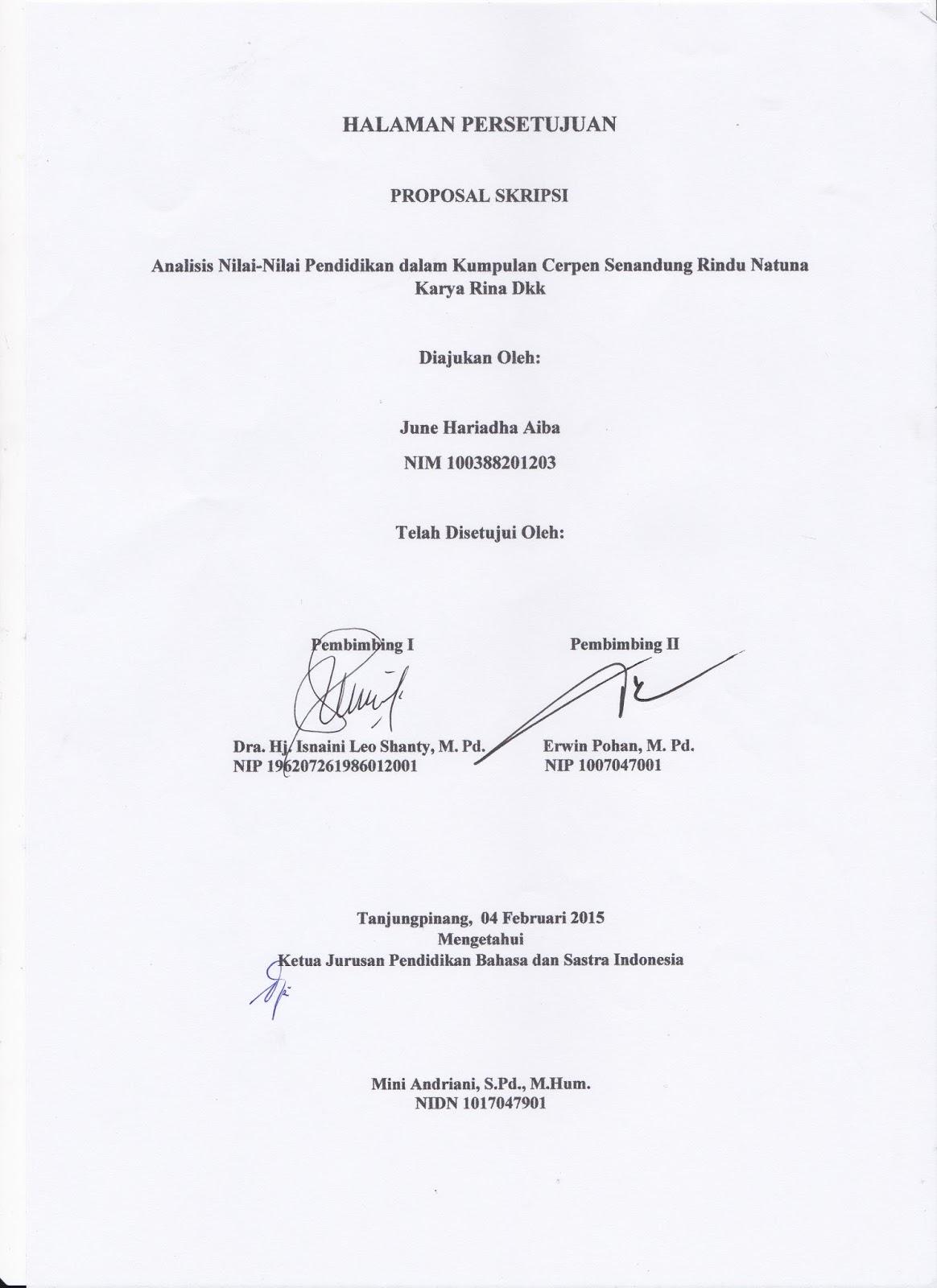 June Hariadha Aiba Analisis Nilai Nilai Pendidikan Dalam Kumpulan