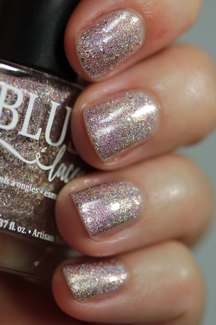 BLUSH Lacquers Clara swatch by Streets Ahead Style