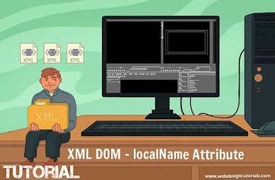 XML DOM - localName Attribute