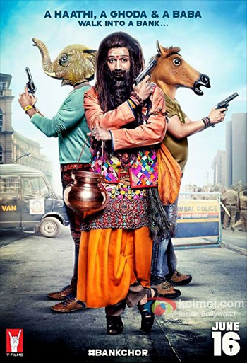 Bank Chor 2017 Hindi 720p HDRip 1GB