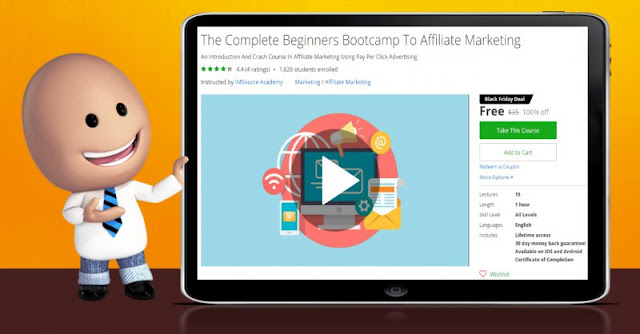 [100% Off] The Complete Beginners Bootcamp To Affiliate Marketing|Worth 35$