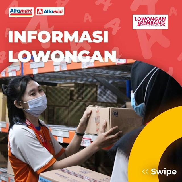Lowongan Kerja Crew Store Alfamart Area Pati Tayu Juwana Kayen Dan Sekitarnya