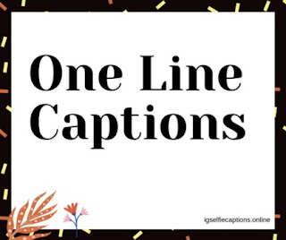 One Line Captions