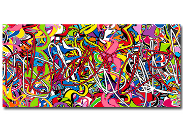 graffiti, street art, modern art, contemporary art, artist, artwork, multi coloured, Sam Freek art, buy art from artists,