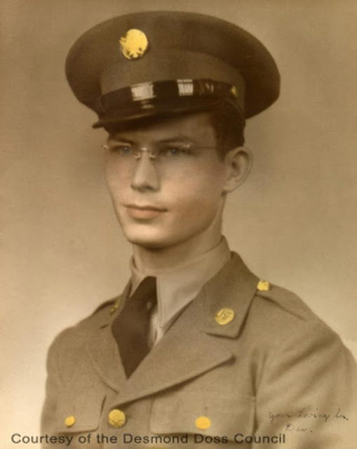 Desmond Doss World War II worldwartwo.filminspector.com