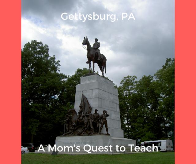 Statue of Lee/VA monument at Gettysburg NMP