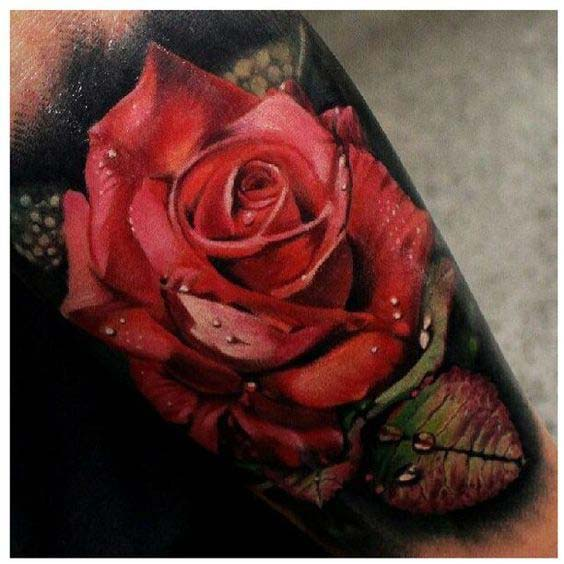 60 Very Provocative Rose Tattoos Designs And Ideas