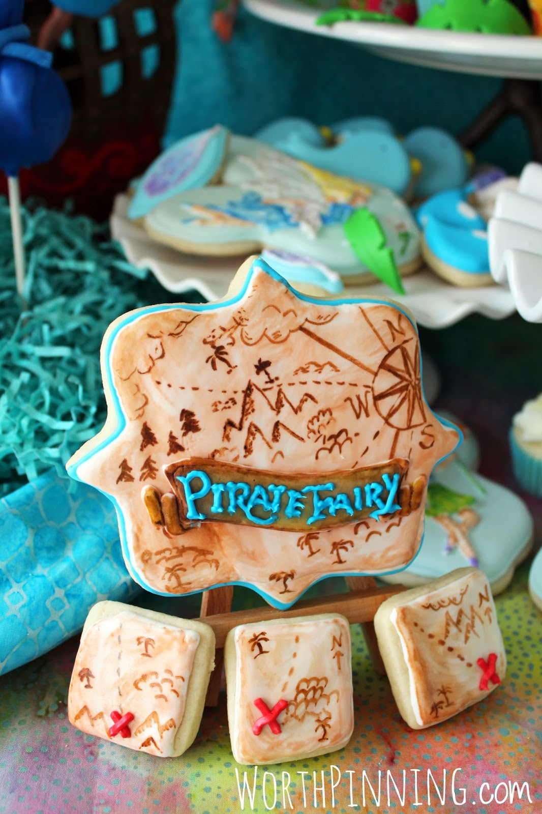 Worth Pinning Pirate Fairy Dessert Party