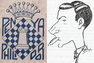 El ajedrecista Rafael Escoté presidente de la Penya d'Escacs Philidor