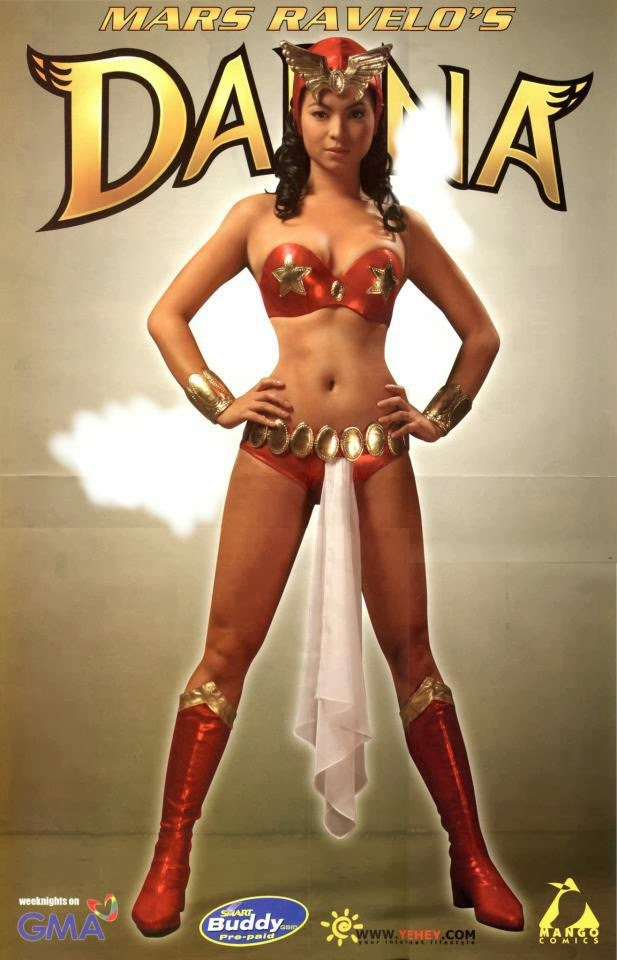 Share your Angel locsin darna frankly, you