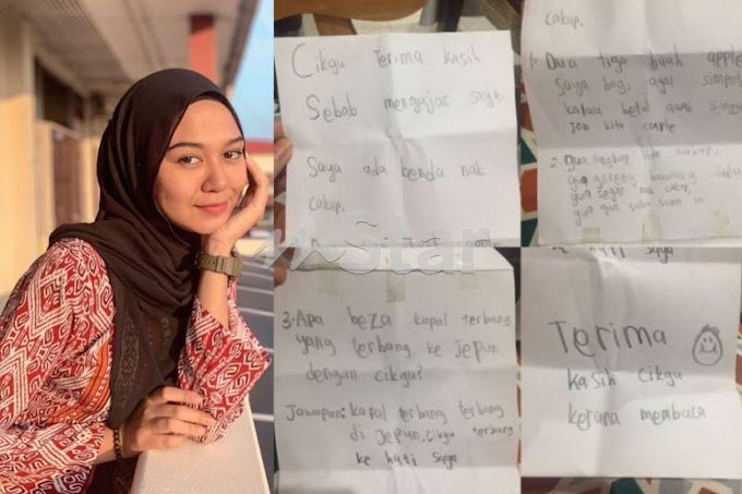 Baru  5 Bulan Mengajar Cikgu Zulaikha Dapat 15 Surat Cinta.Yang Ni Paling Kelakar