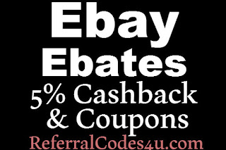 Ebay.com Ebates Cashback February, March, April, May, June, July 2016
