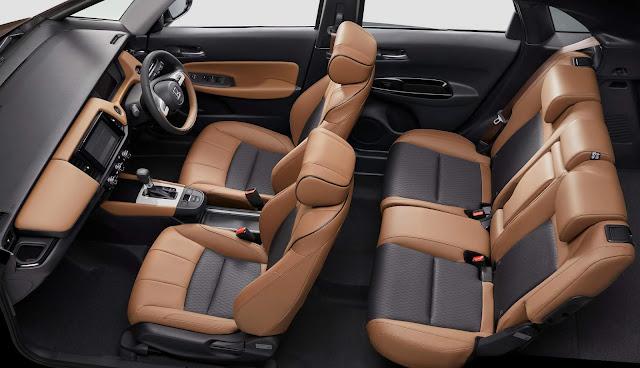 Novo Honda Fit 2021 - interior - espaço interno