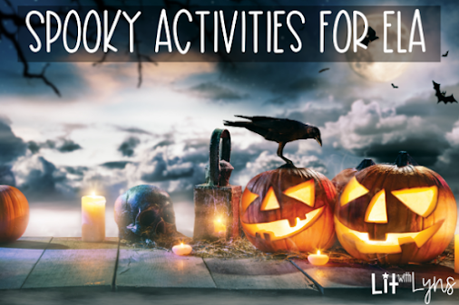 Spooky Activities for ELA