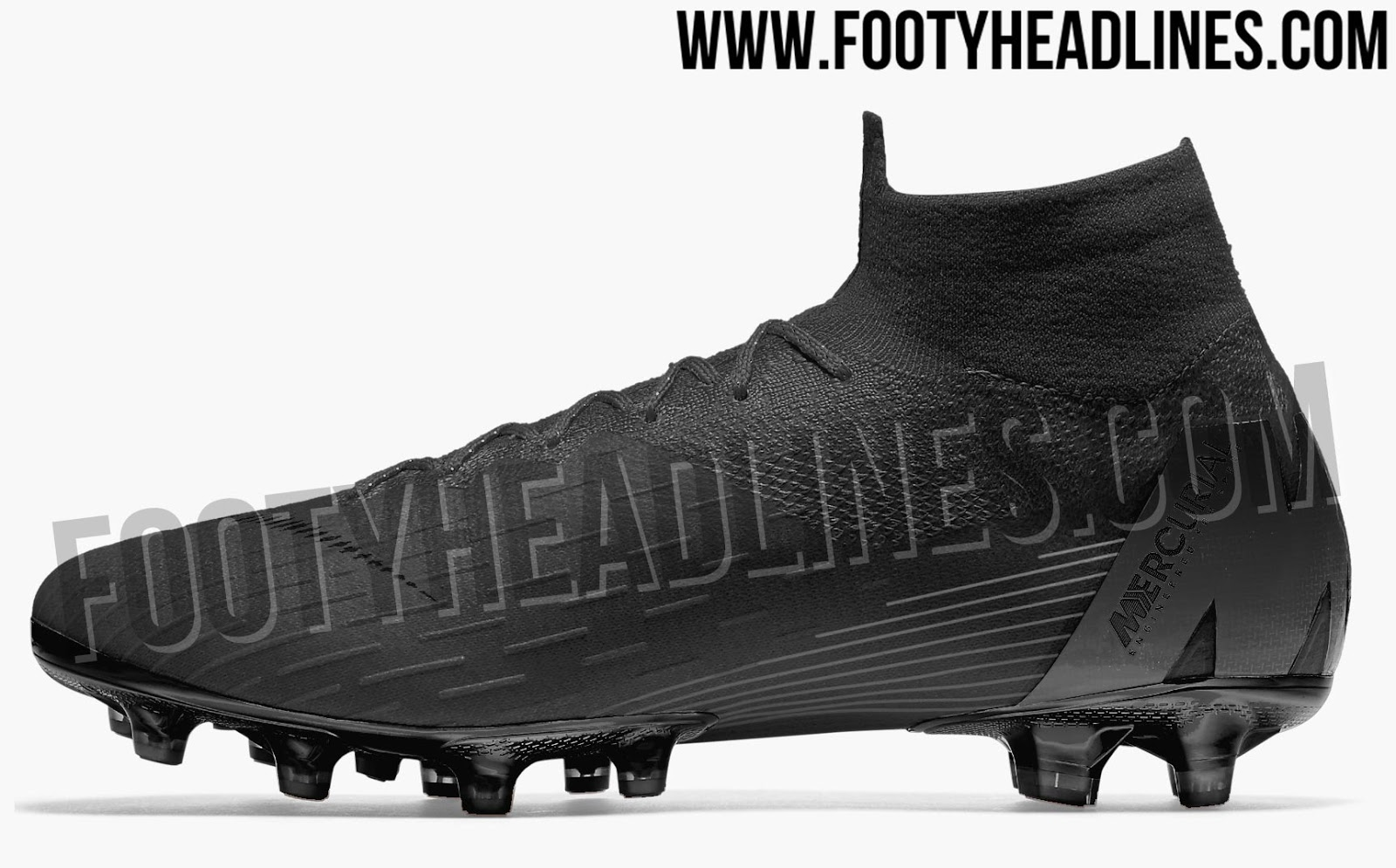 blackout nike mercurial superfly 360 2018 19 black pack boots leaked footy headlines. Black Bedroom Furniture Sets. Home Design Ideas