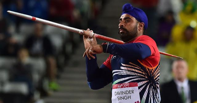 Davinder Singh through to javelin throw final,