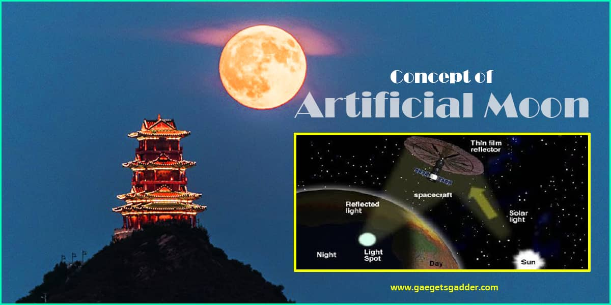 artificial moon - future inventions