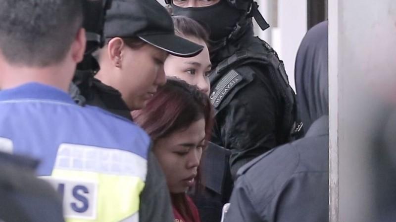 Siti Aisyah dan Doan di Pengadilan Sepang