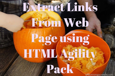 HAP: Extract Links From Web Page using HTML Agility Pack