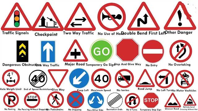 Traffic rules and symbols in Hindi PDF Download pdfdownloadinhindi.com