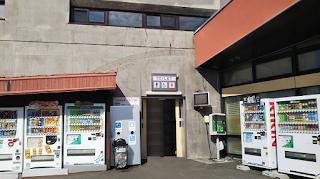 道の駅「びふか」トイレ入り口