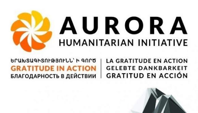 Premio Aurora 2019 tendrá lugar el 20 de octubre en Ereván